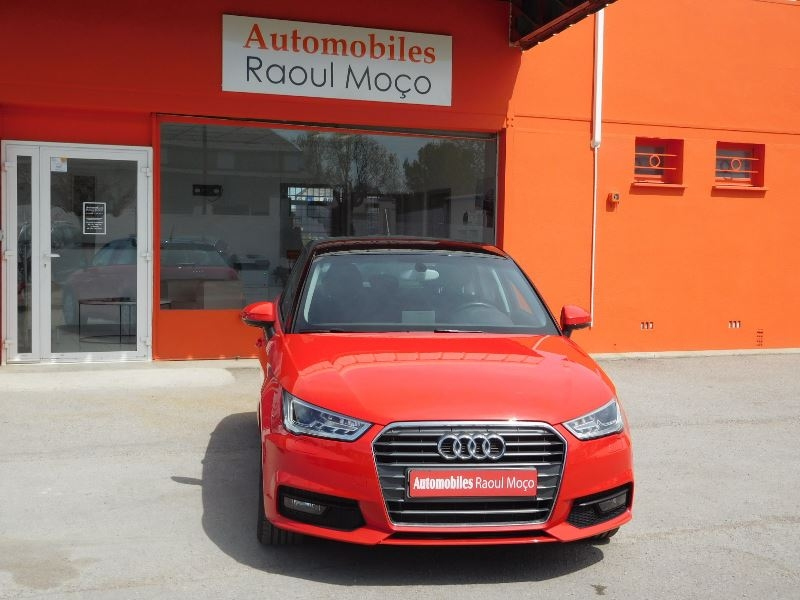 Audi A1 SPORTBACK 1.6 TDI 116CH ATTRACTION Diesel ROUGE Occasion à vendre