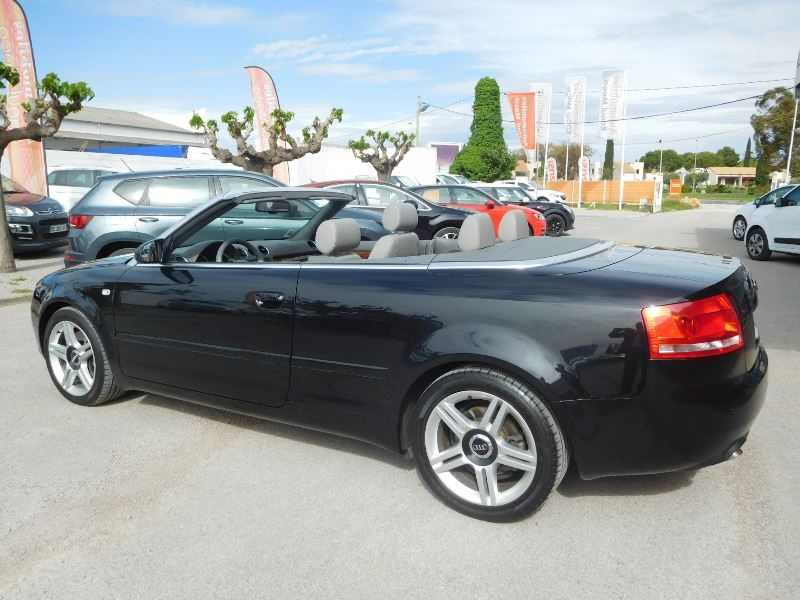 audi a4 cabriolet 3 0 v6 tdi 233ch dpf ambition luxe quattro d occasion lattes automobiles. Black Bedroom Furniture Sets. Home Design Ideas