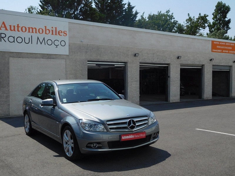 Mercedes-Benz CLASSE C (W204) 220 CDI BLUEEFFICIENCY AVANTGARDE BA Diesel GRIS Occasion à vendre