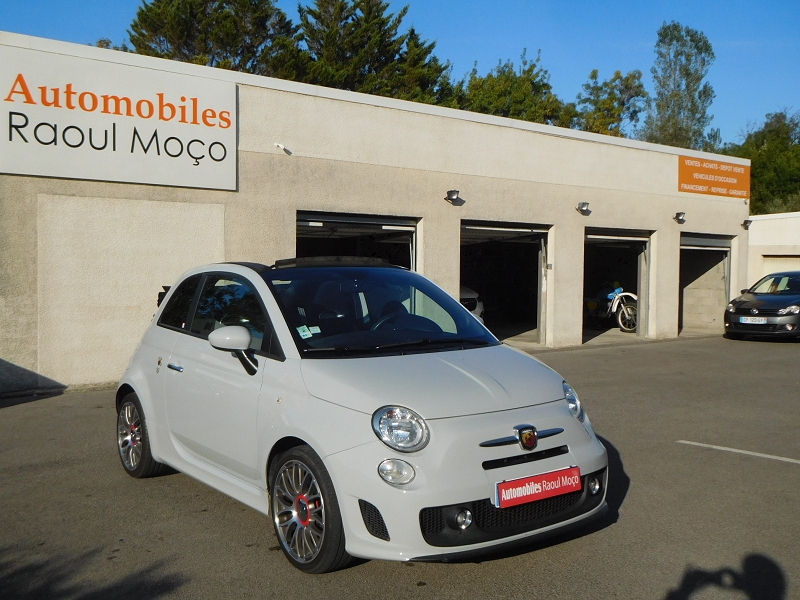 Abarth 500C 1.4 TURBO T-JET 140CH 595 Essence GRIS Occasion à vendre