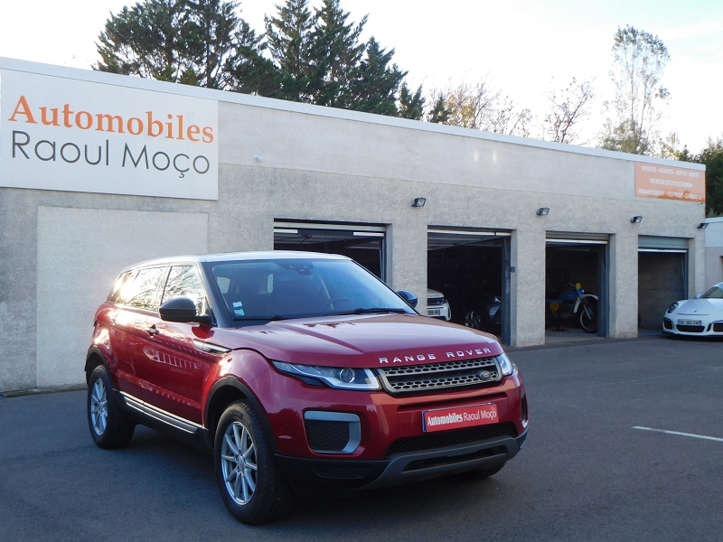 Land-Rover EVOQUE 2.0 TD4 150 PURE BVA MARK III Diesel ROUGE Occasion à vendre
